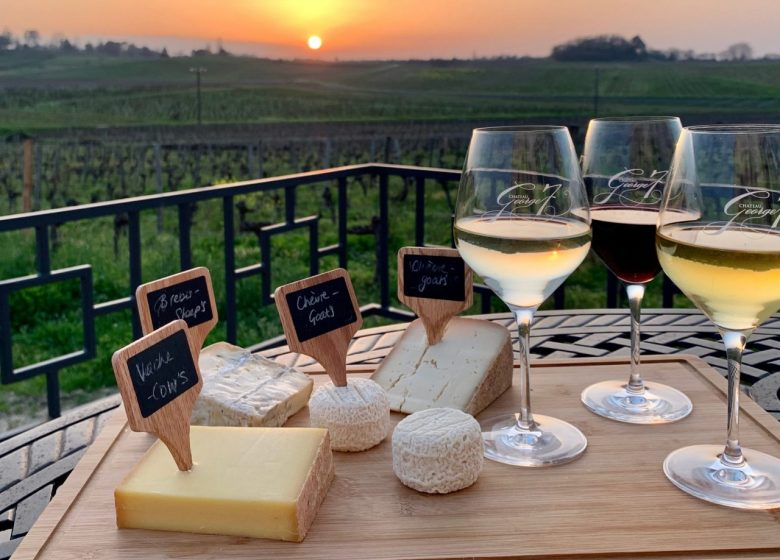 Château George7 – Atelier accord vins et fromage