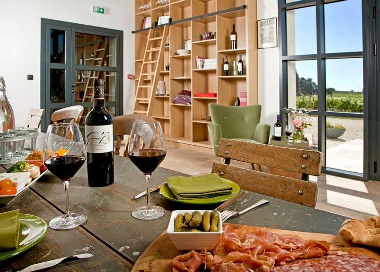 Château George7 – Déjeuner au vignoble