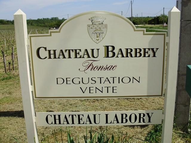 Château Barbey Labory